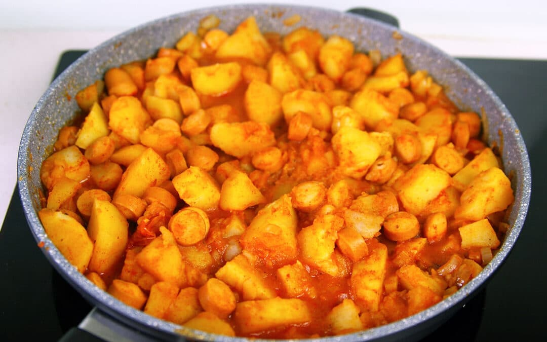Hungarian potato paprika