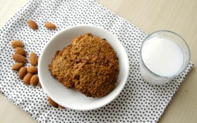 Simple banana oatmeal cookies